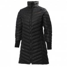 Helly Hanson W VERGLAS DOWN COAT INSULATOR- own insulated full length coat for women.