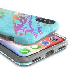 Jappinen tiene logotipo Original funda de silicona para iPhone X
