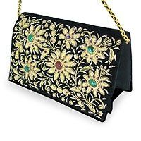 Zardozi Embroidered Evening Bags & Purses