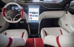 customized Tesla model S interior