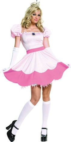Adult Pretty Pink Princess Costume - Party City  sc 1 st  Pinterest & 12 best 80s Party images on Pinterest | Halloween decorating ideas ...