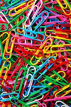 Rainbow colors ❖de l'arc-en-ciel❖❶Toni Kami Colorful paperclips