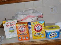 Homemade Laundry Soap (dry)