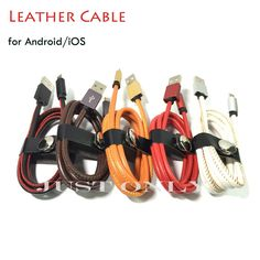 Find More Mobile Phone Cables Information about 1M 2.4A Hand Sewn Leather USB Cable for Samsung/Xiaomi Android Metal Plug Charging Charger Data Sync for iPhone 5 5s 6 6s Plus,High Quality usb pendrive,China cable usb android Suppliers, Cheap cable usb printer from Just Only on Aliexpress.com