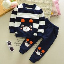 Cheap suit baby, Buy Quality newborn baby fashion directly from China baby suit Suppliers: Baby Boy Cartoon Bear Clothes Sets Fashion Spring Outerwear Sport Clothing Newborn Baby Suits Children's Set Striped Suits Baby Toddler Boy Outfits, Kids Outfits Girls, Baby Boy Outfits, Cute Baby Boy, Baby Boys, Toddler Boys, Kids Boys, Infant Toddler, Baby Boy Fashion