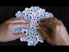 crochet summer hat pART1