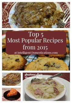Our Top 5 Most Popular Recipes from 2015 | Intelligent Domestications