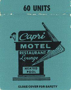 Capri Motel, La Junta, Colorado