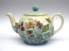 Teapot-Garden Flowers