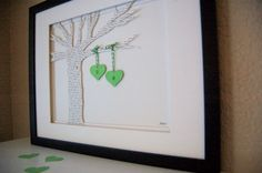 Wedding Gift from Etsy...love the tree and hearts