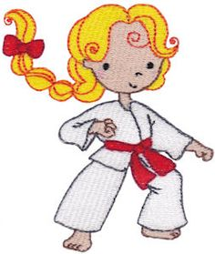 Karate Kid Embroidery designs - http://www.bunnycup.com/viewset.aspx?designset=692