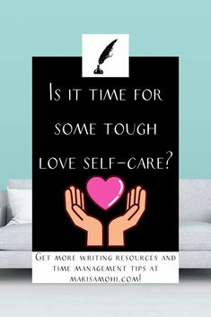 Sometimes bubble bath and champagne isn't the answer. Here are 10 acts fo tough love self-care to help you feel better. #selfcare #intentional Self Development, Personal Development, Time Management Strategies, Mindfulness Activities, How To Stop Procrastinating, Tough Love, Morning Person, Writing Resources, How To Wake Up Early
