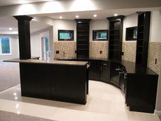 35 - Bar Inspiration   Michael David Design Center   #backsplash #interiordesign #bar #basement #tiledesign #tile #dreamhome #luxuryhome