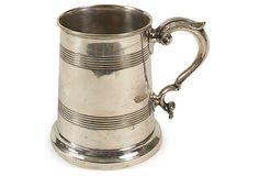 Silverplate Tankard on OneKingsLane.com