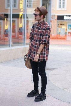 Estilo de ropa hipster