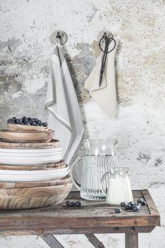 Pot holder Mynte Latte knitted - Ib Laursen