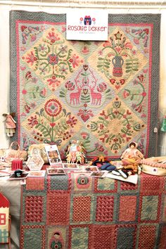 The things I love at Quilt Market. | I am Pam Holland