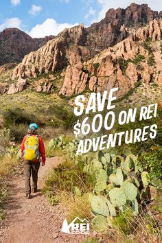 Take on Texas with a trip to Big Bend. Members save $600 on any 2018 or 2019 departure. Offer ends 5/28. Terms and conditions apply.