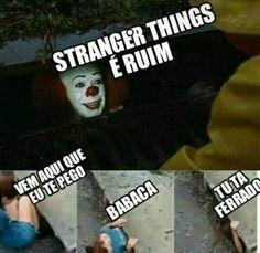 Corre não feadaputa Haha Funny, Funny Memes, Saints Memes, Little Memes, Kool Kids, Sadie Sink, Stranger Things Netflix, I Love You All, Best Series