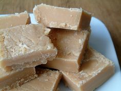 ~ Tablet ~ a Scottish Sweetie ~ a crumbly fudge candy ~ made from butter, condensed milk, and sugar ~