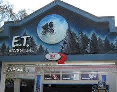 One of my favorite rides of all time, the ET bike ride :) Universal Studios, Orlando, Fl.