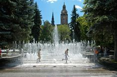 The singing fountain. článok v the guardian City Breaks Europe, Historical Architecture, Late Summer, The Guardian, Travel Inspiration, Fountain, Waterfall, Scenery, Alternative