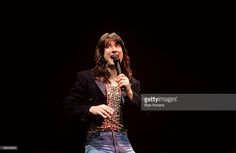 Steve Perry of Journey performs on stage at the Nassau Colliseum on October 10, 1981 in Uniondale, Long Island, New York.