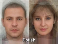 The typical Polish face from thousands and thousands of images of everyday people compiled together into one composite portrait. To see more, go here. http://www.mediadump.com/hosted-id167-average-faces-from-around-the-world.html