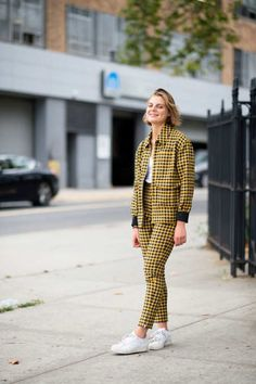 Street Style | NYFW S/S 2015 - Claire Beermann
