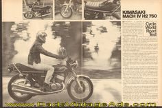 1975 Kawasaki Mach IV H2 750 – evil, wicked, mean and nasty