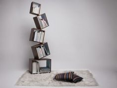 Drawing of Wide Selection of Cool Bookshelves Design for Your Interior