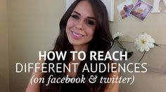 How To Publish Posts For Different Audiences on #Facebook & #Twitter. #socialmedia #tips