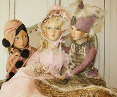 Antique #boudoir #dolls FrenchGARDENHouse