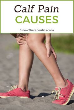 Overuse, prolonged use, or repetitive use of the calf muscles can cause a calf cramp. Learn more about calf pain at SinewTherapeutics.com