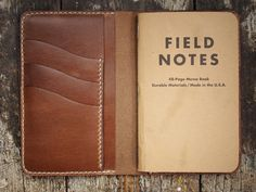 Hollows Leather Field Wallet