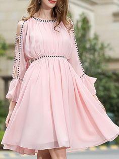 Girls Frock Design, Fancy Dress Design, Stylish Dress Designs, Stylish Dresses For Girls, Frocks For Girls, Simple Dresses, Fashion Drawing Dresses, Fashion Dresses, Casual Frocks