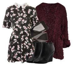 """""""Lydia Inspired Outfit - Teen Wolf"""" by clawsandclothes ❤ liked on Polyvore featuring Boohoo, Topshop, NUVOLA and Tory Burch"""