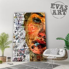 🅴🆅🅰🆂🅰🆁🆃 (@evas_art_it) • Foto e video di Instagram Art It, Video, Contemporary Art, Curtains, Shower, Prints, Painting, Instagram, Rain Shower Heads