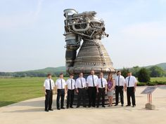 """Saturn V """"moon rocket"""" engine firing again after 40 years, sort of 