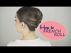 How to French Roll (the easy way!) - YouTube