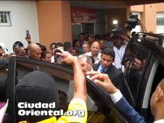 Imagenes de la visita del Presidente Danilo Medina  forma sorpresiva al ...