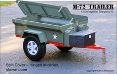 Fiberglass replica M416/M100 military trailer - Jeep Wrangler Forum