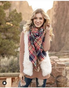 Grace And Lace, Plaid Scarf, Fall Outfits, Style, Fashion, Swag, Moda, Autumn Outfits, Fashion Styles