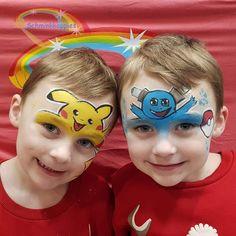 Twinning is Winning Pokemon   Schminkkoppies Marielle Heuft