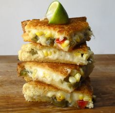 Mexican Inspired Grilled Cheese