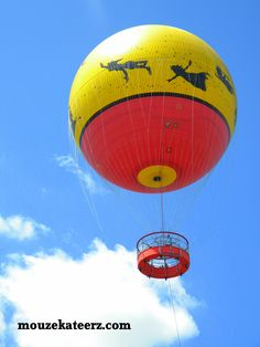 Downtown Disney: Up, Up, and Away!