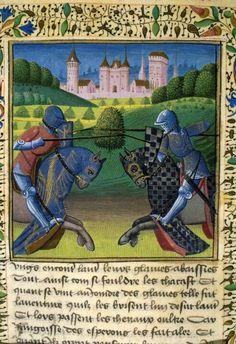 Tournoi de Sorelois. France. C.a> XV. Mandragore. Medieval Imago & Dies Vitae Idade Media e Cotidiano.