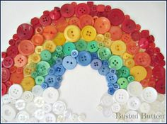 These are really cool ways to use old buttons! You can even paste them on a board and decorate with it!