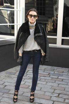 London Fashion Week AW13: The best street style around - Yahoo! Lifestyle UK
