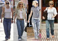 Boyfriend jeans, tendencia moda mujer Primavera_verano 2013